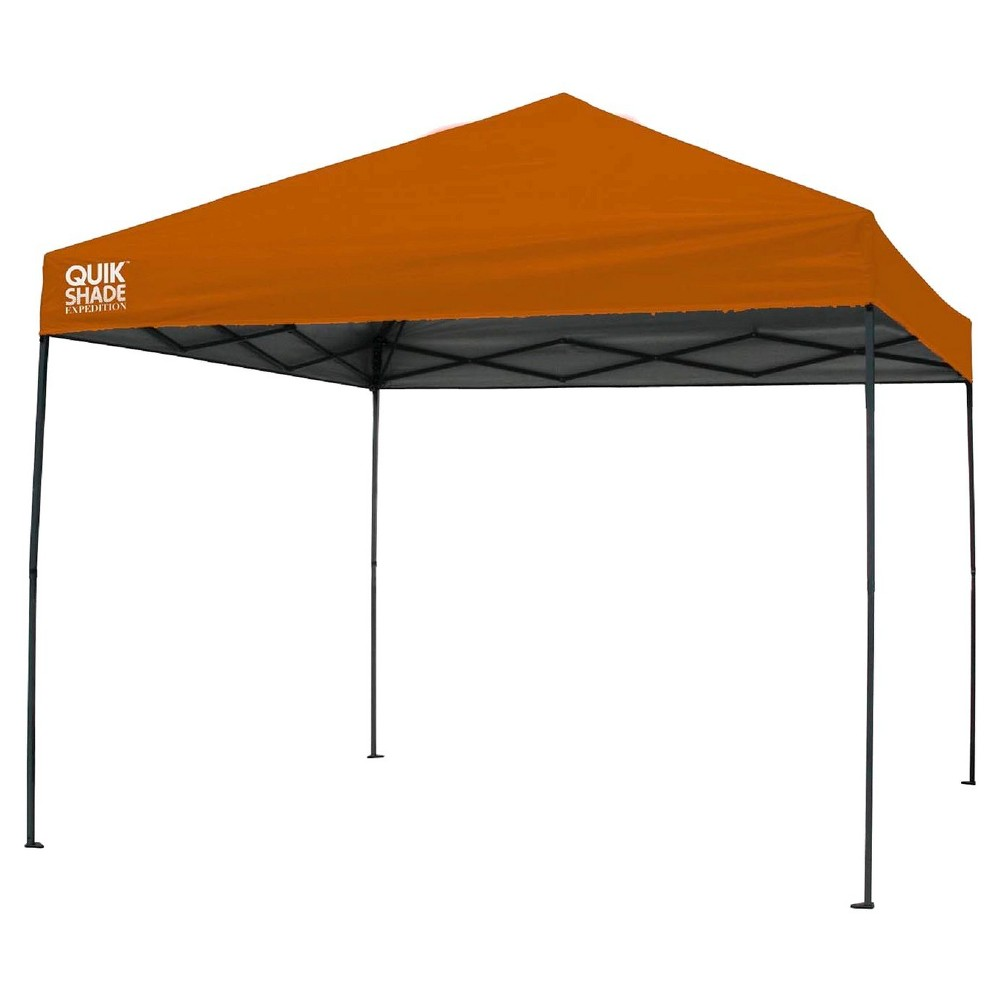 Quik Shade Expedition 100 Instant Canopy - Orange