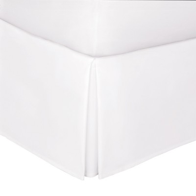 White Tailored 14  Bed Skirt Queen - Levinsohn