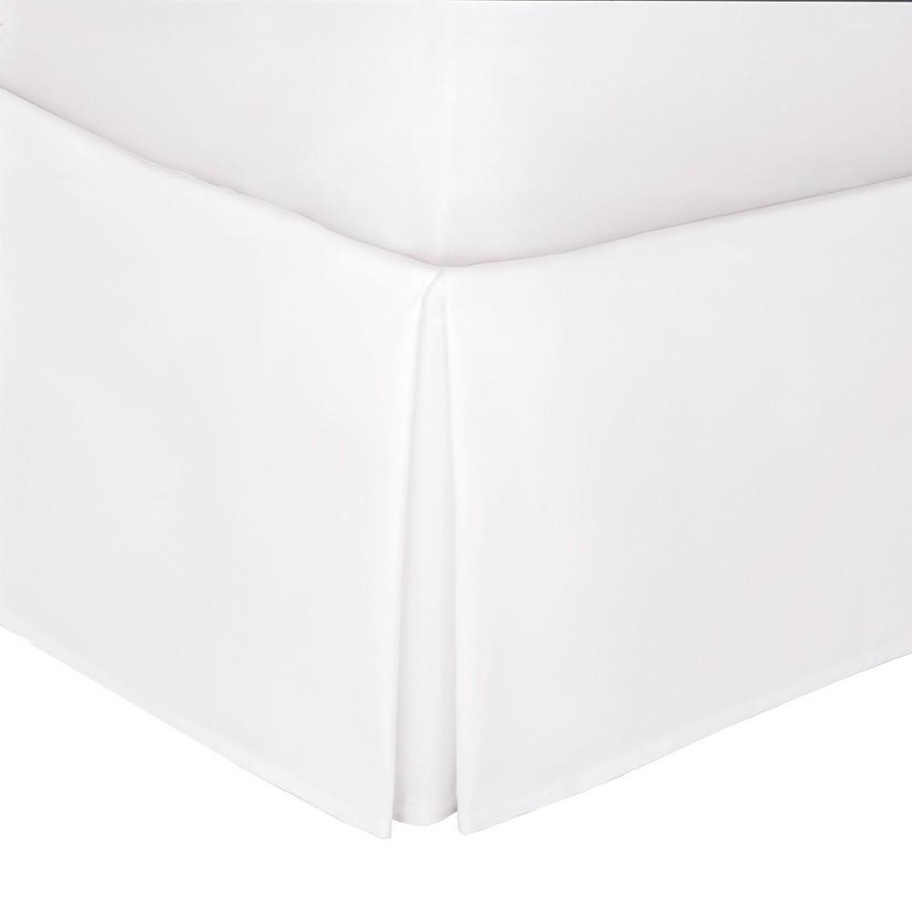 """Image of """"White Tailored 14"""""""" Bed Skirt Full - Levinsohn"""""""
