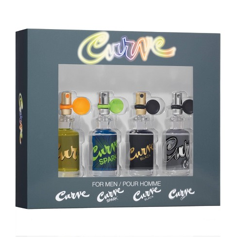 Curve Men's Cologne Perfume Gift Set - 4pc - image 1 of 4