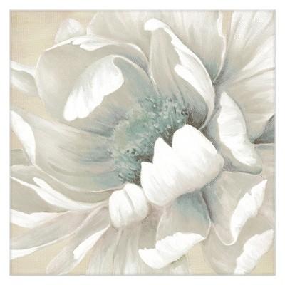 35 x35  Winter Blooms II By Carol Robinson Art On Canvas - Fine Art Canvas