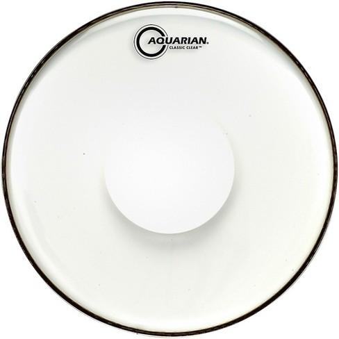 Aquarian Classic Clear With Power Dot Tom Head - image 1 of 1
