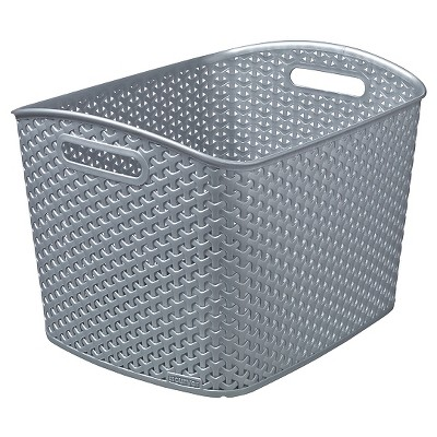 Y Weave Extra Large Storage Bin - Earth Gray - Room Essentials™