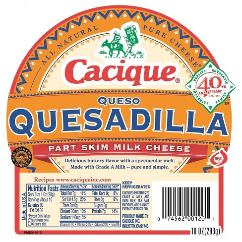 Cacique Queso Quesadilla - 12oz - image 1 of 1
