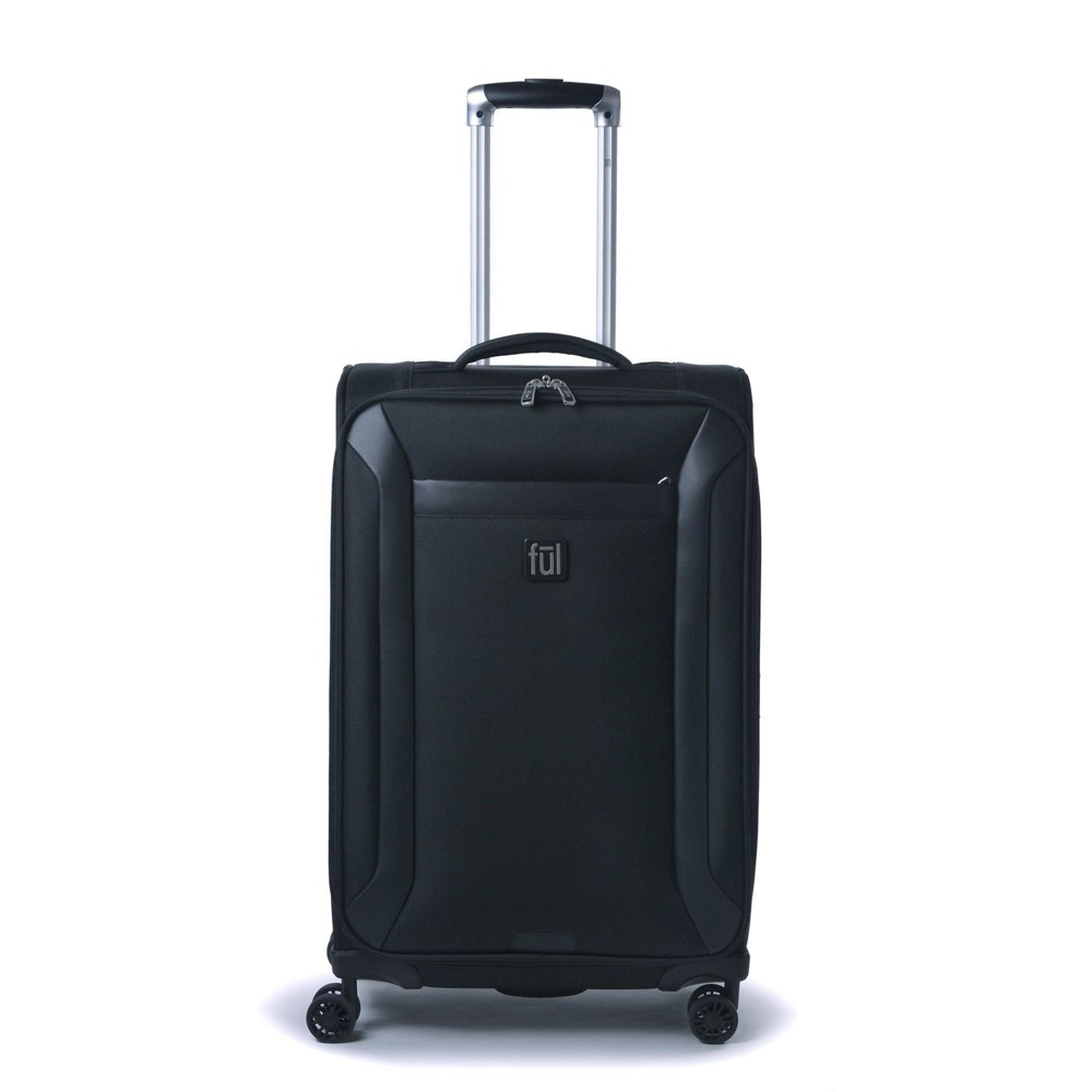 Ful Heritage Classic 27 34 Softside Spinner Suitcase Black