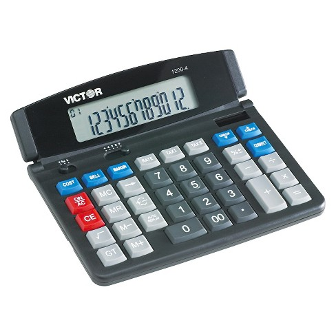 Basic Calculator Victor Victor Battery - Powered Basic Calculator - Black - image 1 of 1