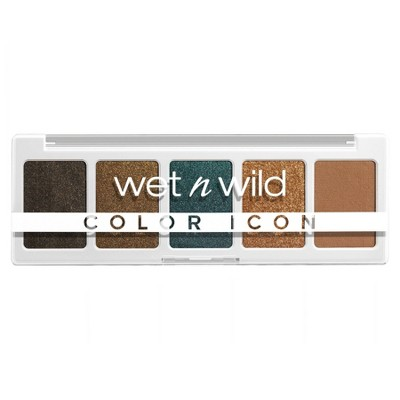 Wet n Wild Color Icon 5-Pan Eyeshadow Palette - 0.21oz