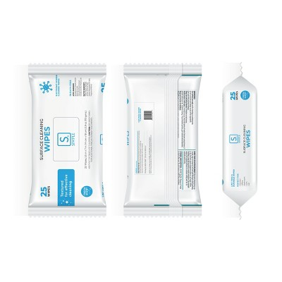 Simple Alcohol Wipes 25ct