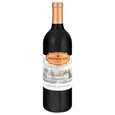 Chateau St. Jean Cabernet Sauvignon Red Wine - 750ml Bottle