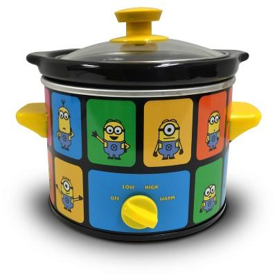 Uncanny Brands - Minions 2 Quart Slow Cooker