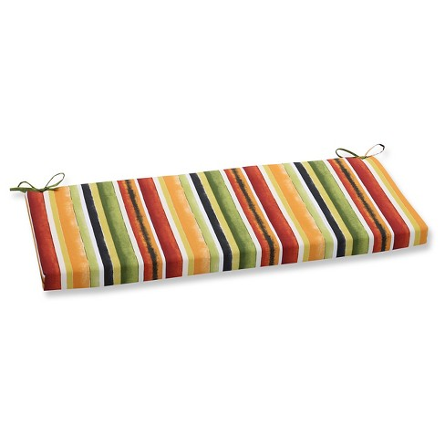 Pillow Perfect Dina Noir Outdoor Seat Cushion - Multi-colored - image 1 of 1