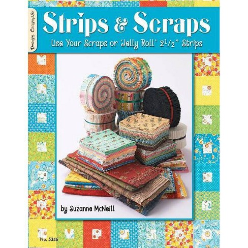 Strips & Scraps - by  Suzanne McNeill (Paperback) - image 1 of 1
