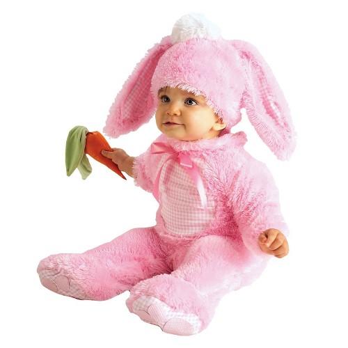 Halloween Baby Girls' Precious Pink Wabbit Costume 12-18M, Girl's