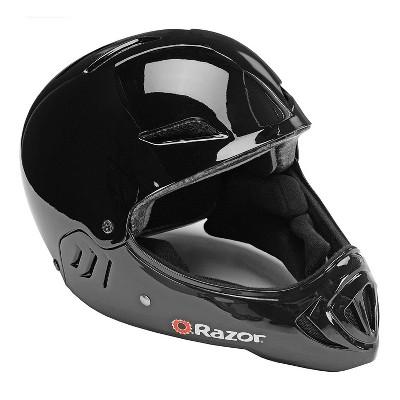 Razor Full Face Child Safety Outdoor Sports Helmet, Gloss Black | 97878