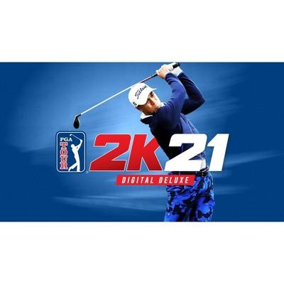 PGA Tour 2K21: Digital Deluxe - Nintendo Switch (Digital)