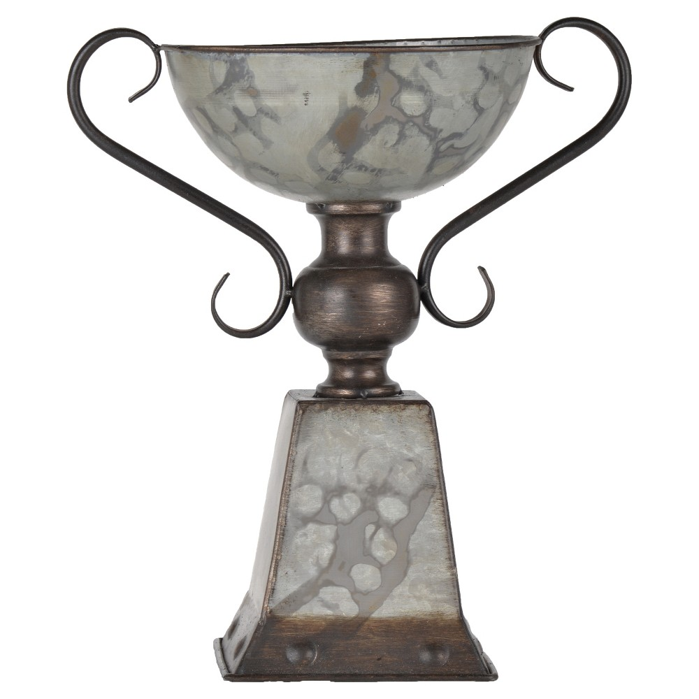 Metal Bowl with Stand - A&b Home, Multi-Colored