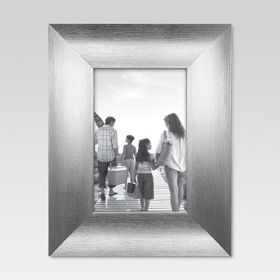 Scoop 4 x6  Silver Frame - Threshold™
