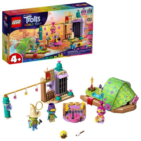 LEGO Trolls World Tour Lonesome Flats Raft Adventure Kids Building Kit 41253 - image 1 of 4