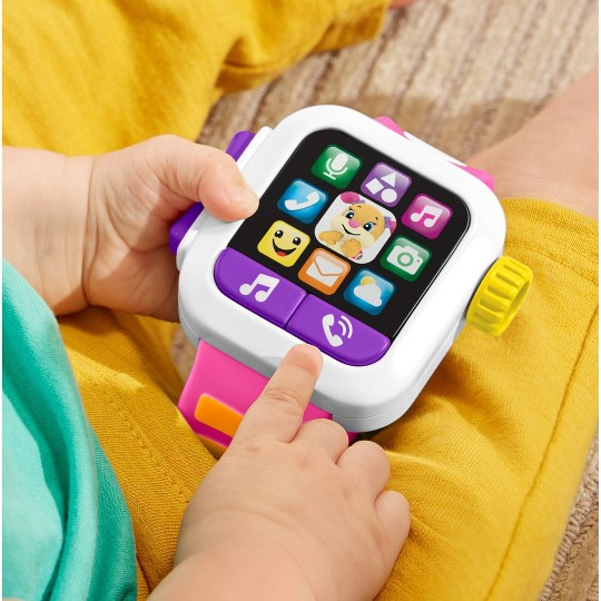 Fisher-Price Laugh 'N Learn Pink Smartwatch image number null