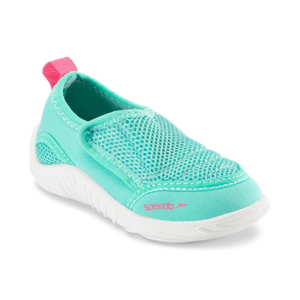 Speedo Toddler Girls' Surfwalker - Blue/Pink (Large), Blue Pink