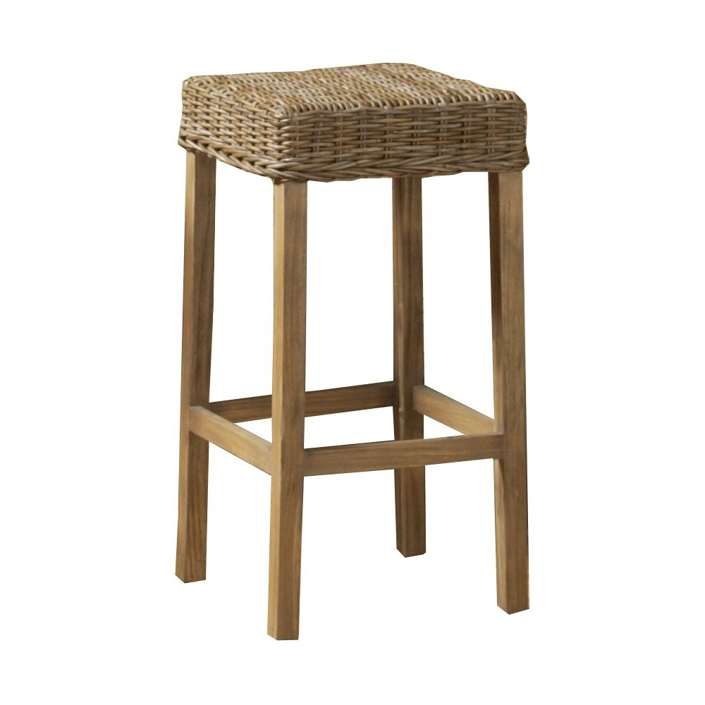 Caruma 30 Barstool Wood/Brown - Jeffan