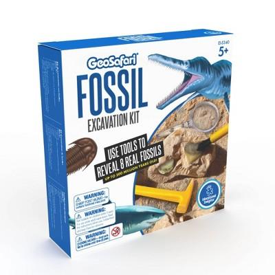 Educational Insights GeoSafari Jr. Fossil Excavation Kit