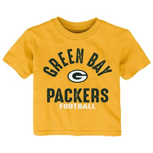 2aa85de37 Green Bay Packers Toddler Gametime Fun 3pk Shirt-Pants Set 3T   Target