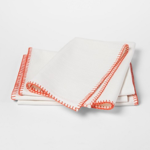 Off White Solid Napkin - Threshold™ - image 1 of 1