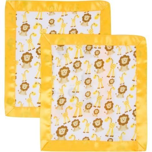 MiracleWare  Muslin Security Blanket - Giraffe & Lions 2pk - image 1 of 1
