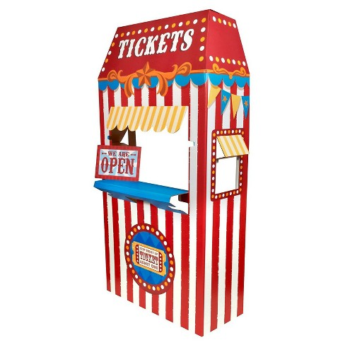 Ticket Booth Cardboard Stand - image 1 of 1