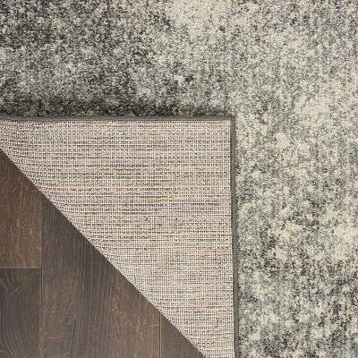 Nourison Passion PSN10 Charcoal/Ivory Indoor Area Rug : Target