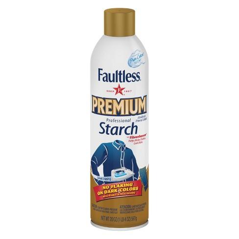Faultless Premium Spray Starch 20 oz