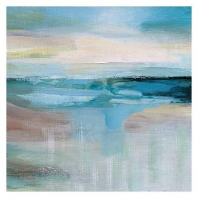 "30"" x 30"" Coastal Dream by Nan Art on Canvas - Fine Art Canvas"