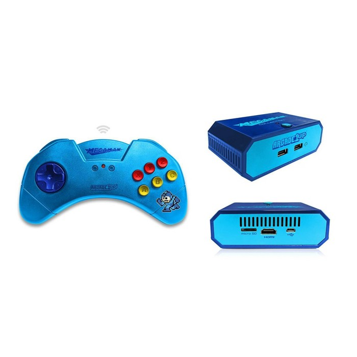 Arcade1Up Wireless Plug & Play Set - Mega Man : Target