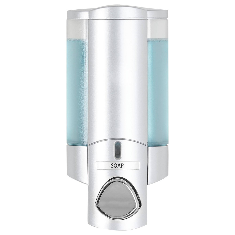 Image of Aviva Dispenser Satin Silver - Better Living Products