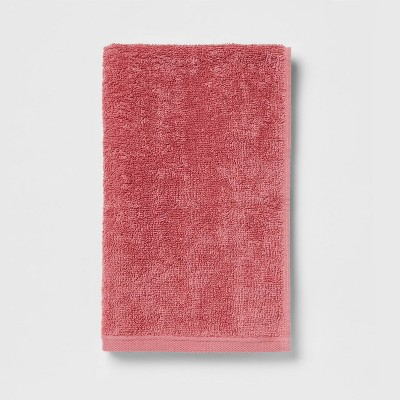 Everyday Hand Towel Pink - Room Essentials™