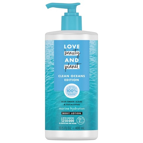 Love Beauty and Planet Algae & Eucalyptus Marine Hydration Body Lotion - 13.5 fl oz - image 1 of 4