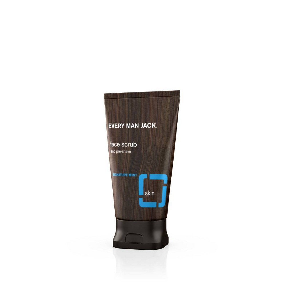 Image of Every Man Jack Pre-Shave Signature Mint Face Scrub - 5oz