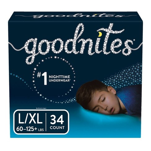 Goodnites Boys' Bedtime Bedwetting Underwear - (Select Size and Count) - image 1 of 4