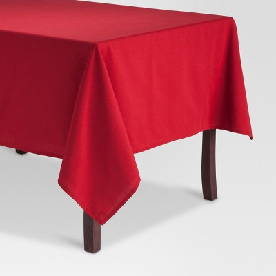 Ruby Red Rectangular Solid Tablecloth 52 x70  - Threshold™