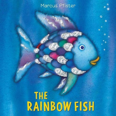 The Rainbow Fish Cloth Book - by Marcus Pfister (Hardcover)