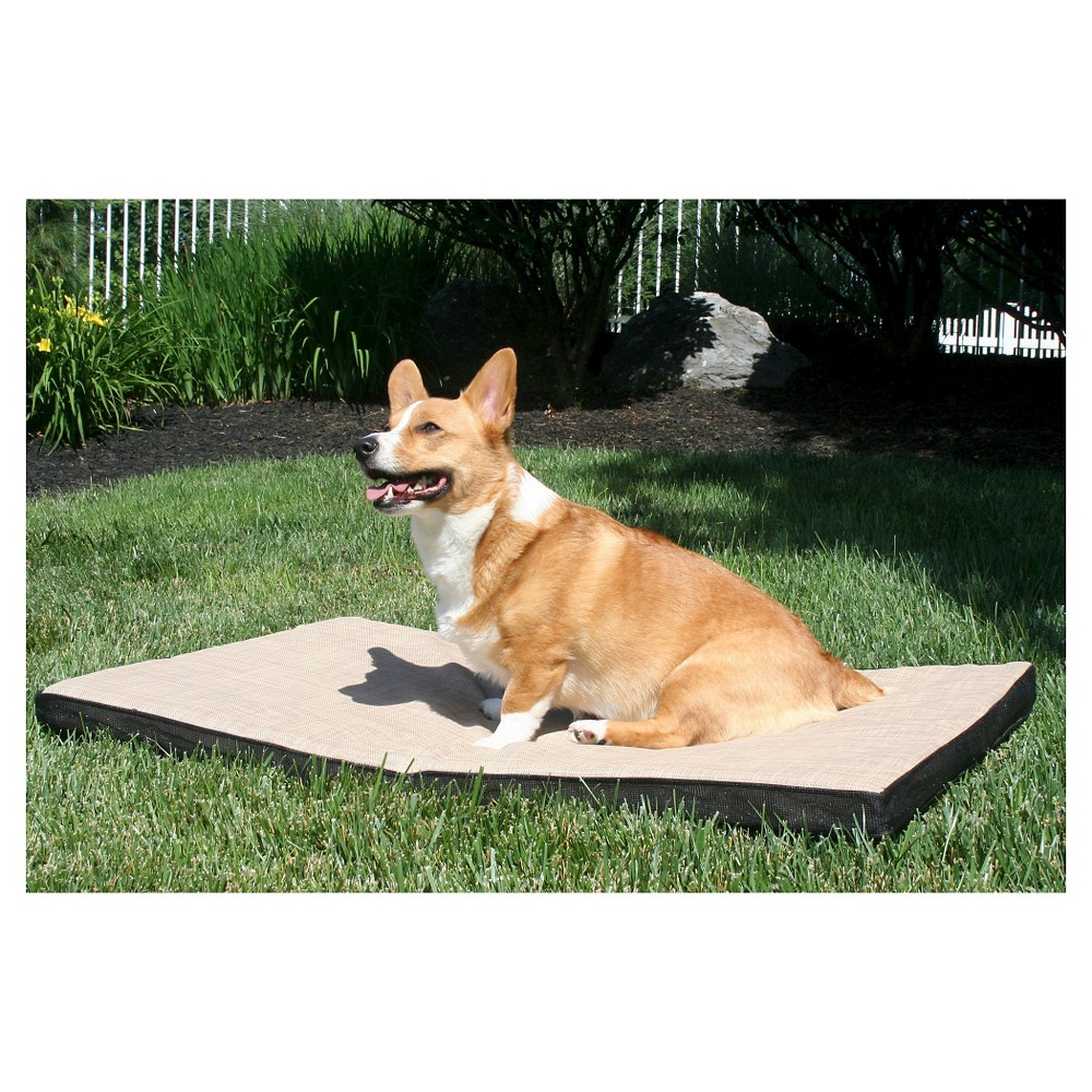 Gen7Pets Cool-Air Pad Pet Bed - Desert Sand (Brown) - Small