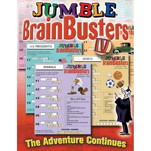 Jumble(r) Brainbusters! IV, 4 - (Jumbles(r)) by  Tribune Media Services (Paperback) - image 1 of 1