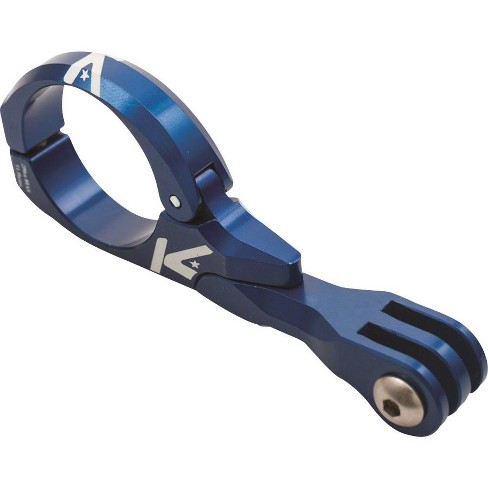 K-EDGE Go Big Pro Universal Action Camera and Light Handlebar Mount 31.8mm: Blue - image 1 of 3