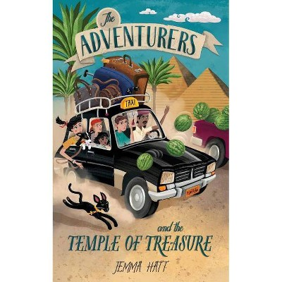 The Adventurers and the Temple of Treasure - by  Jemma Hatt (Paperback)