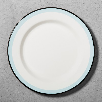 Enamel Dinner Plate - Black/Blue - Hearth & Hand™ with Magnolia