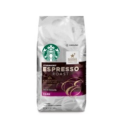 Starbucks Espresso Roast Dark Roast Ground Coffee - 12oz