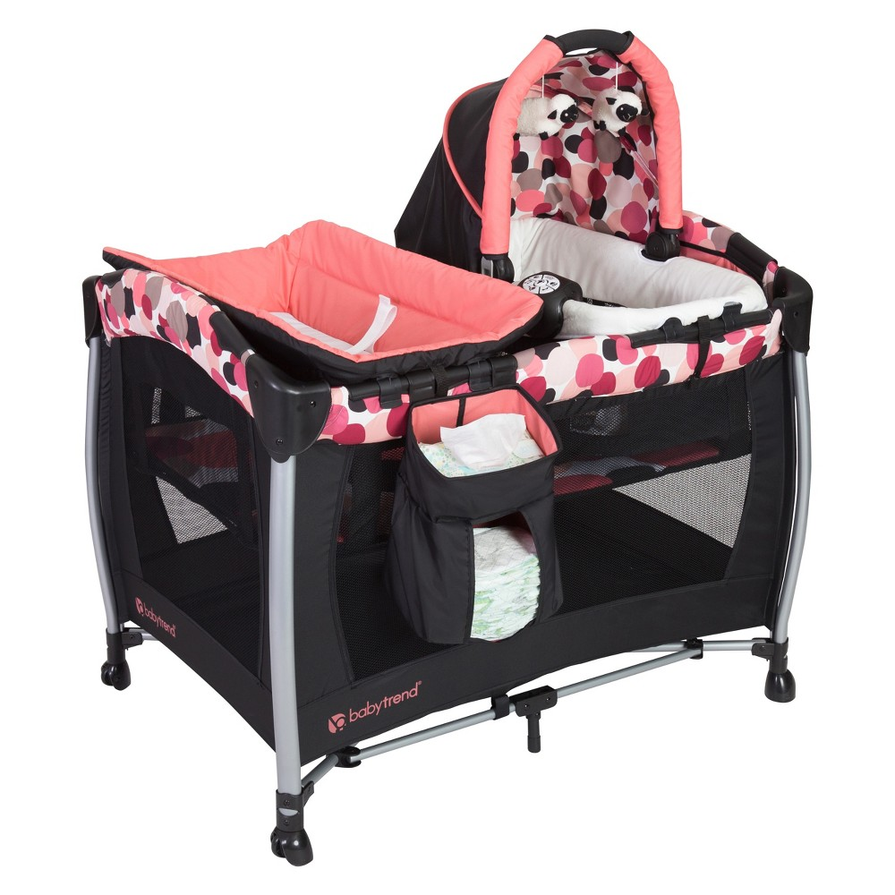 Image of Baby Trend Resort SE Nursery Center Playard - Dotty