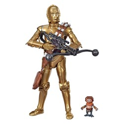 "Star Wars The Black Series C-3PO and Babu Frik 6"" Scale Action Figure 2-pack (Target Exclusive)"