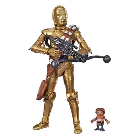 "Star Wars The Black Series C-3PO and Babu Frik 6"" Scale Action Figure 2-pack (Target Exclusive) - image 1 of 4"
